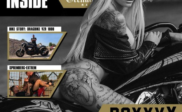 RoxxyX Covergirl Magazin REBELS INSIDE