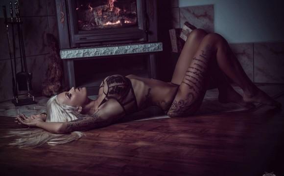 RoxxyX Wintershooting mit Phoenix_Art_Photography