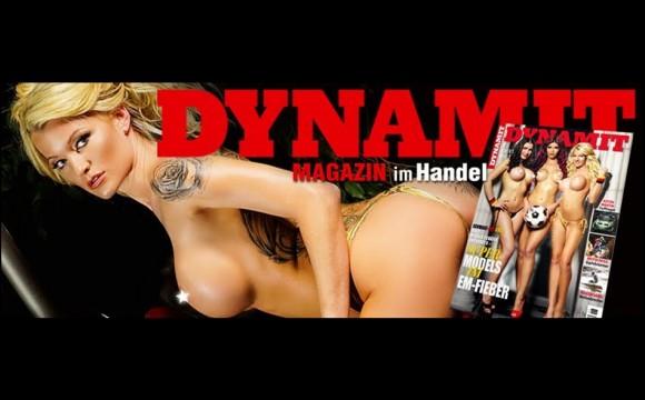 RoxxyX Covergirl im DYNAMIT Magazin